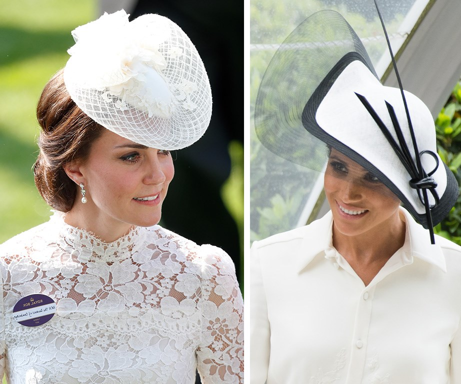 Duchess Catherine always wears a badge to Royal Ascot.