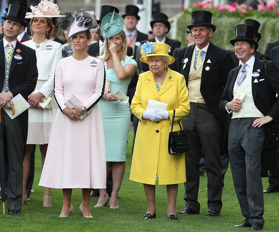 The Queen is the only member of the royal family, not required to wear a name tag during Royal Ascot.