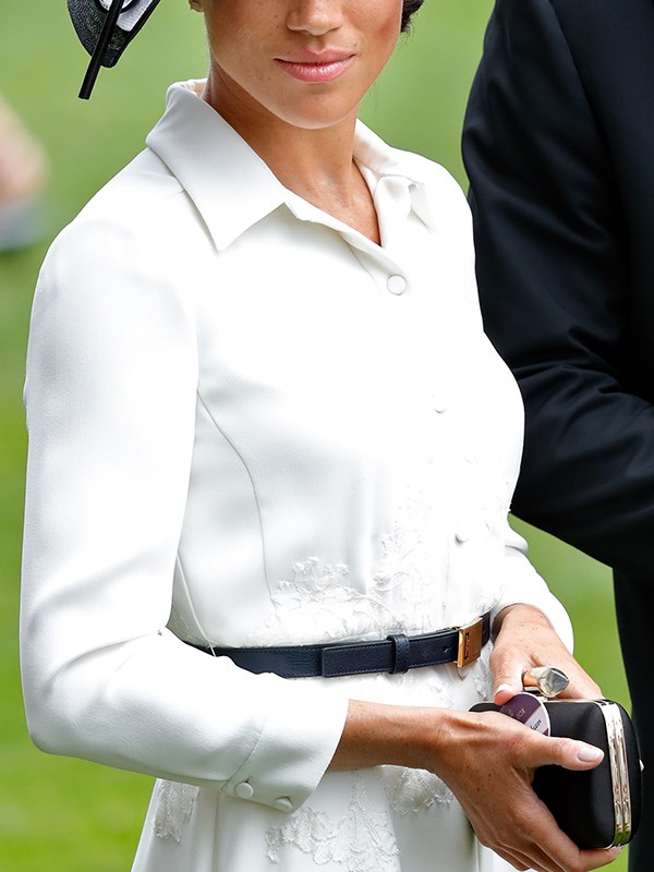 Meghan had a name tag, she just didn't wear it.