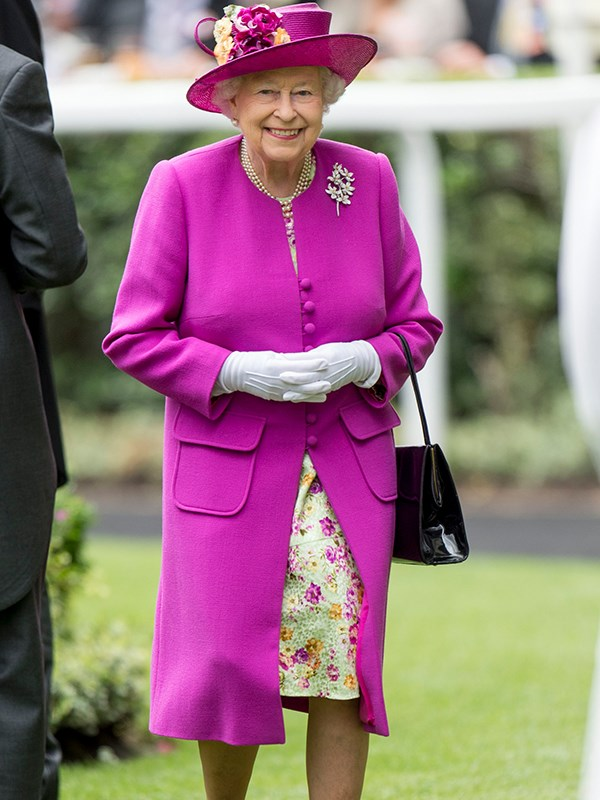 She's the Queen of Colour! Fuschia was the hue *du jour*, for Her Majesty in 2017.