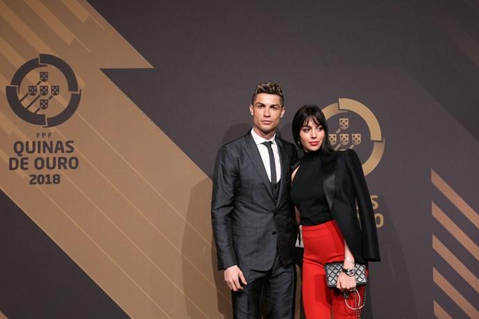 Too perfect for words! Georgina Rodriguez and Cristiano Ronaldo