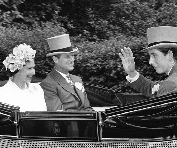 To be fair, this vintage pic from 1968 of the Queen, Prince Phillip and a fresh-faced Prince Charles would put a smile on our face too.