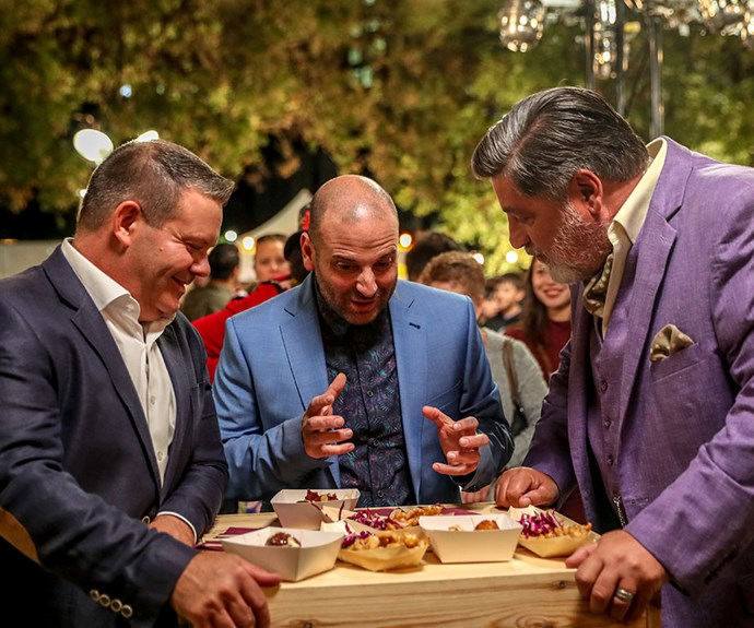 If there's anyone who knows good grub, it 's our 3 favorite MasterChef judges!