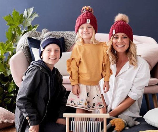 There wasn't a dry eye in the house when Carrie used the platform to pay tribute to her late husband Greg and her oldest son Ollie's father to raise awareness of brain cancer and her charity, Beanies 4 Brain Cancer.