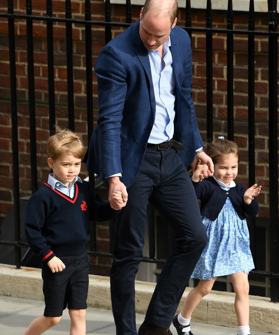 The Prince clearly adores his children.