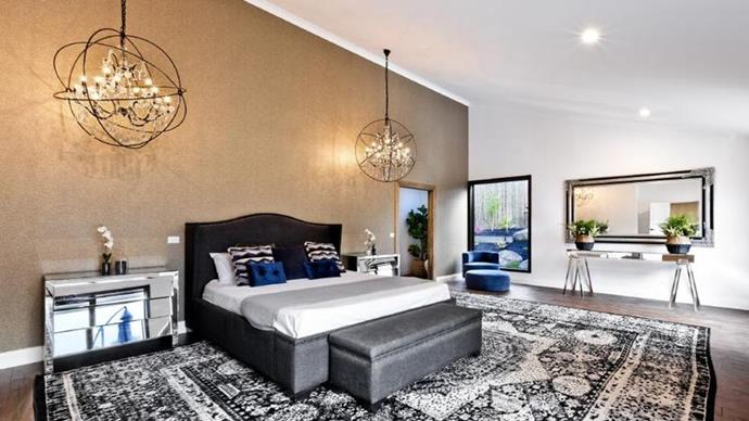 The sleek main bedroom. *Image credit: Realestate.com.au*