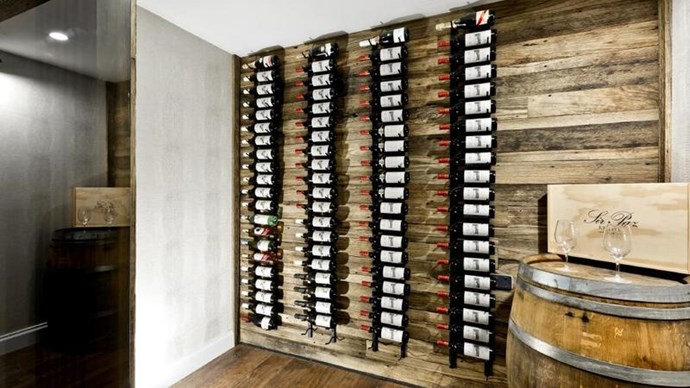 The home's wine cellar. *Image credit: Realestate.com.au*