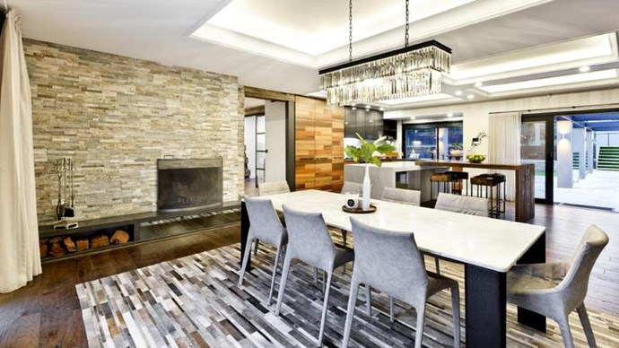 The sleek dining and kitchen area. *Image credit: Realestate.com.au*