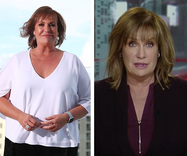 (L-R) Before and after: The *ACA* host is looking amazing as she prepares for the TV WEEK Logie Awards.