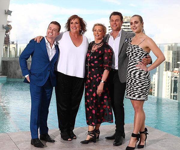 """Going for gold! """"Tracy hates all the personal attention she gets, but she knows she's going to be centrestage at the Logies and, yes, she wants to look her best,"""" our source says."""