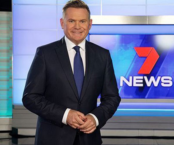 Michael Usher is one of Seven's most popular presenters.