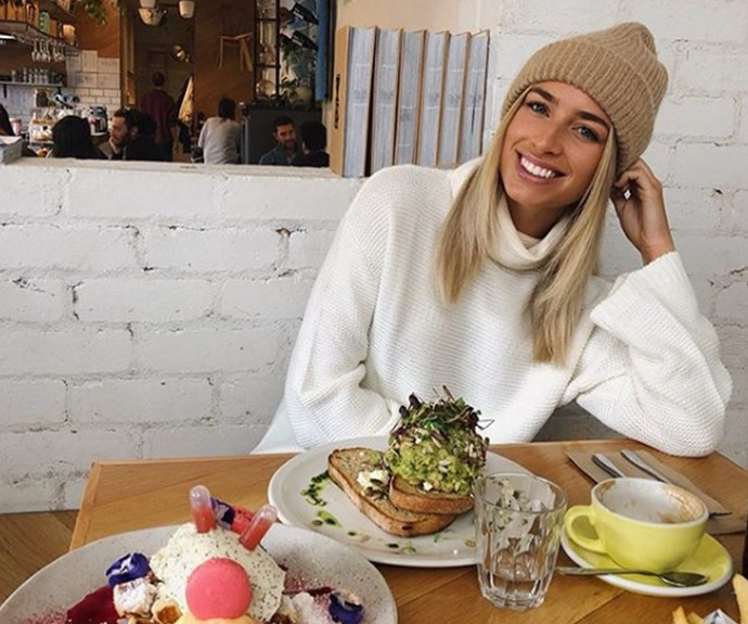 Cassidy may have swapped bikinis for beanies, but we don't think it will be for long!