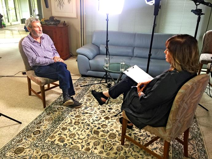 Tracy wasn't afraid to ask the hard questions when she interviewed Don Burke in 2017.
