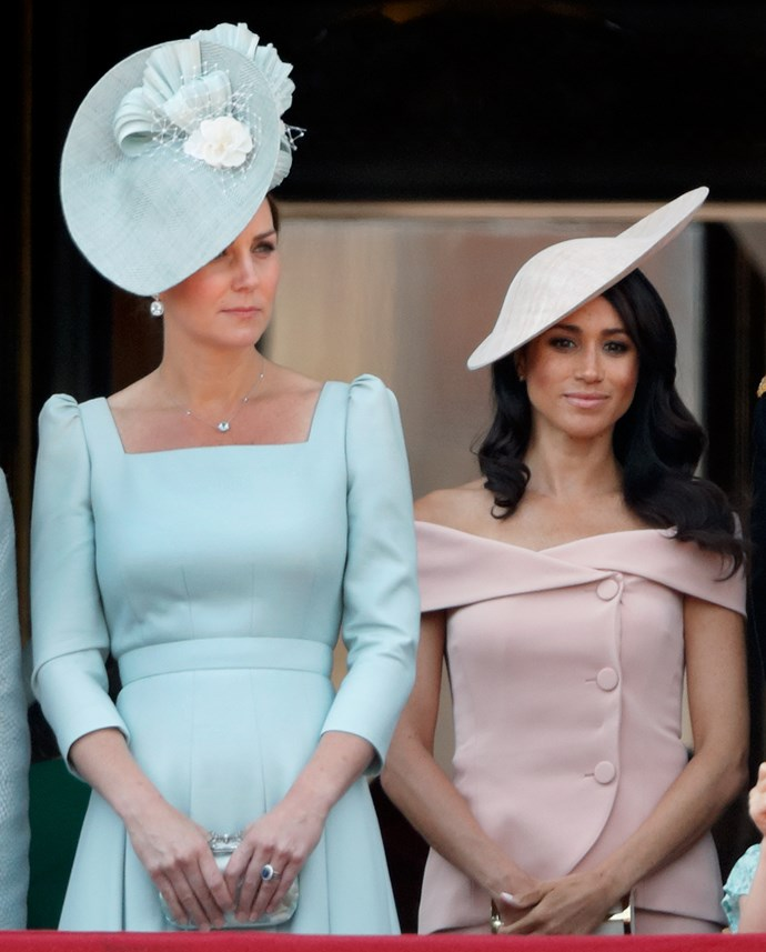 She might be the latest addition to the British royal family, but Meghan has already picked up on the pink cues.