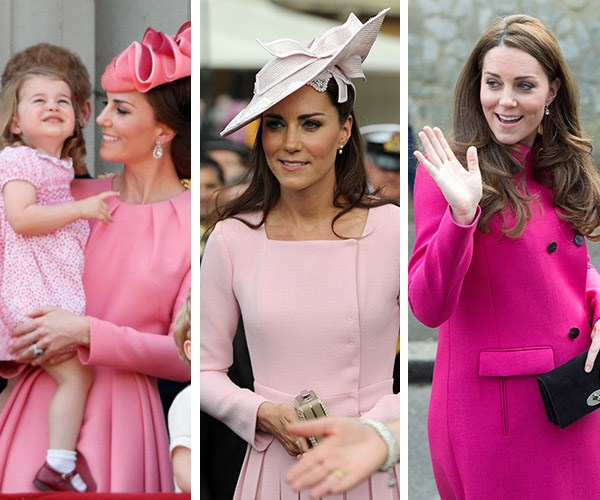 Duchess Catherine's outfits are flawless head-to-toe, but the best way to accessorise is with a similarly pink Princess Charlotte.
