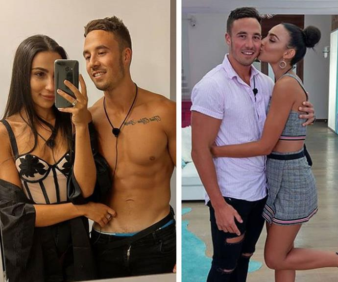 Grant told Tayla he loved her, but shock rumours online claim he lives with a girlfriend in the real-world!