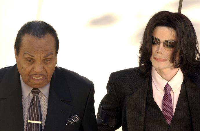 Michael had a tense relationship with his father.