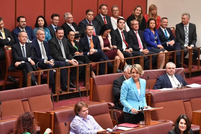 In March, Kristina Keneally delivered her maiden speech in the Australian Senate.