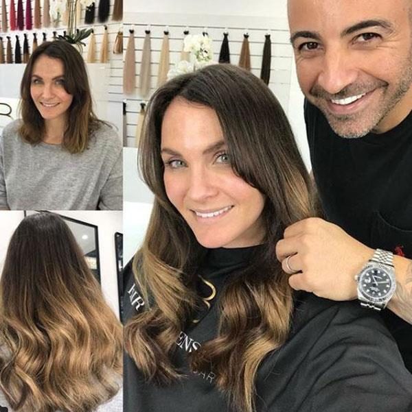 Hair goals: Look at Laura Byrne's new do.