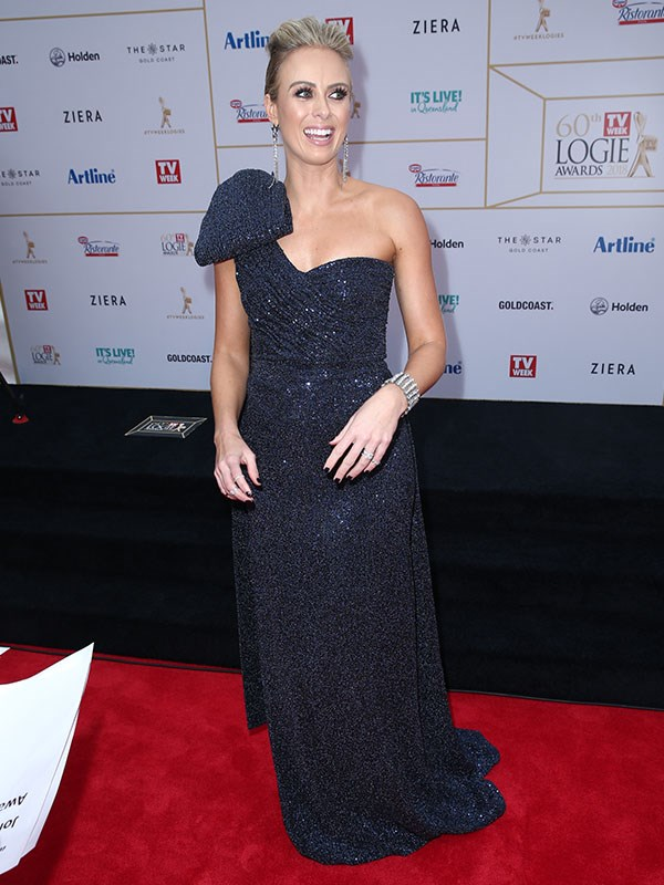 What a vision! Sylvia never puts a stylish foot of place - and the proof is in this Logies' red carpet picture!