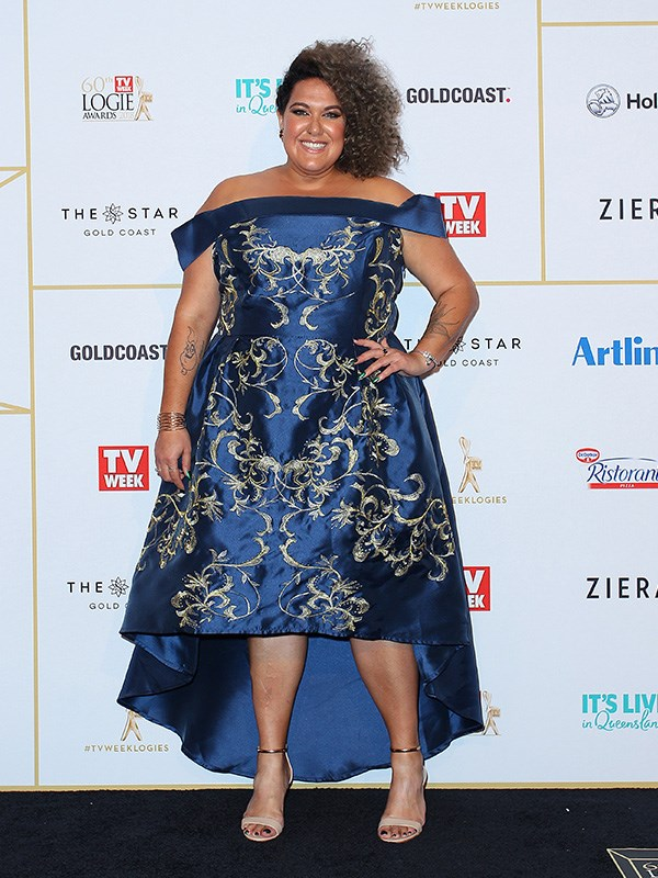 What a glamour! Casey Donovan looking fresh and fabulous in the Gold Coast.