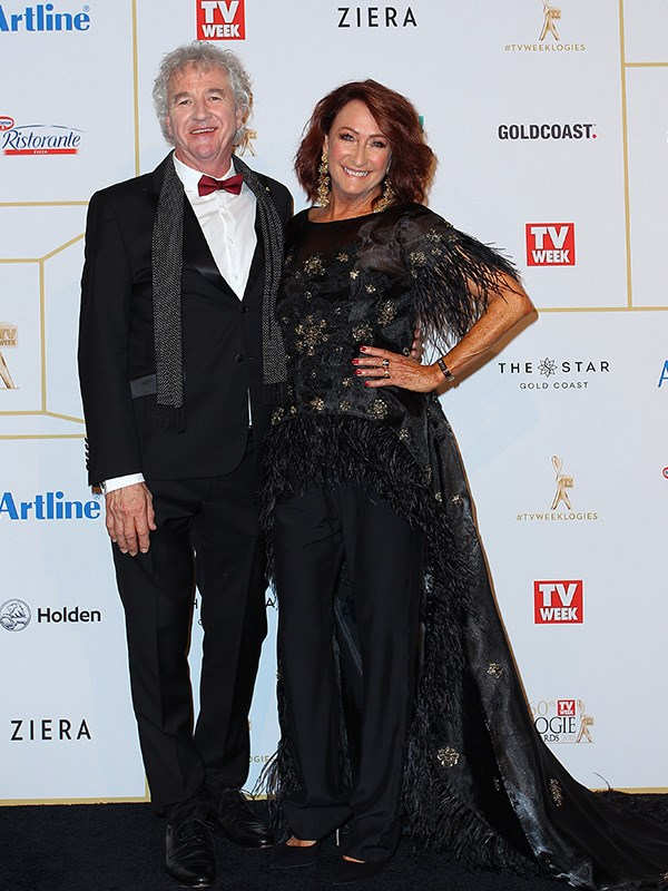 Shane Withington and Lynne McGranger
