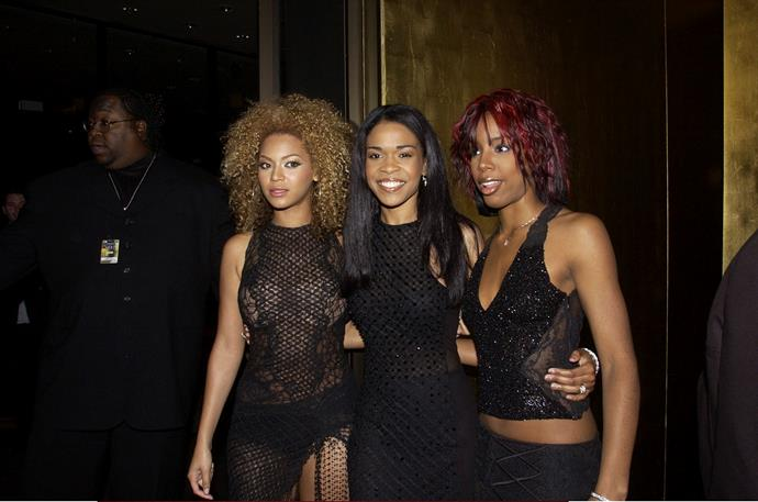 But it wasn't Kelly's first time at the Logies, with the hit-maker stopping by the Logie Awards with her band, Destiny's Child, in Melbourne back in 2002.