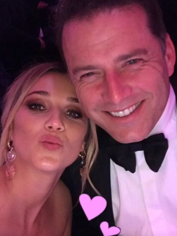 Cute selfie from inside the Logies ceremony.