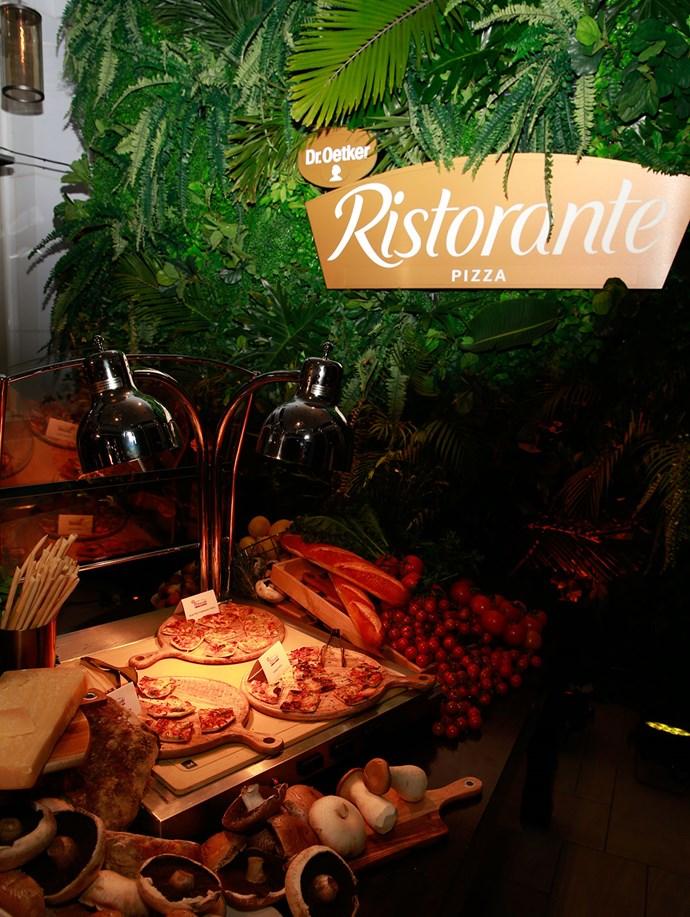 Guests got to sample Dr. Oetker Ristorante Quattro Formaggi Pizza, Dr. Oetker Ristorante Mozzarella Pizza and Dr. Oetker Ristorante Funghi Pizza.