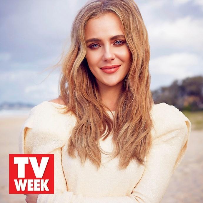 TV WEEK Logie Award winner Jessica Marais.