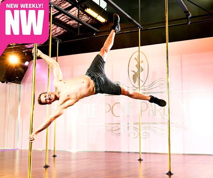 The 'Pole Ninja' is also a stunt man!