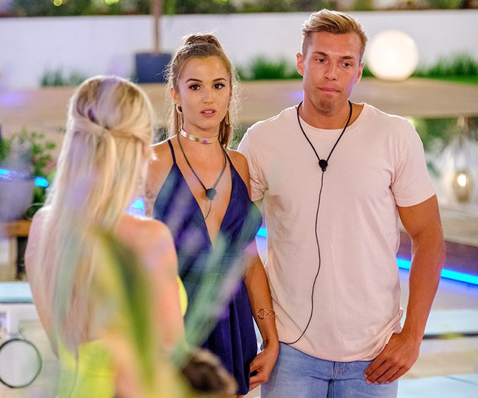 Evicted Islanders Millie and Mark have made shock claims about Eden and Erin.