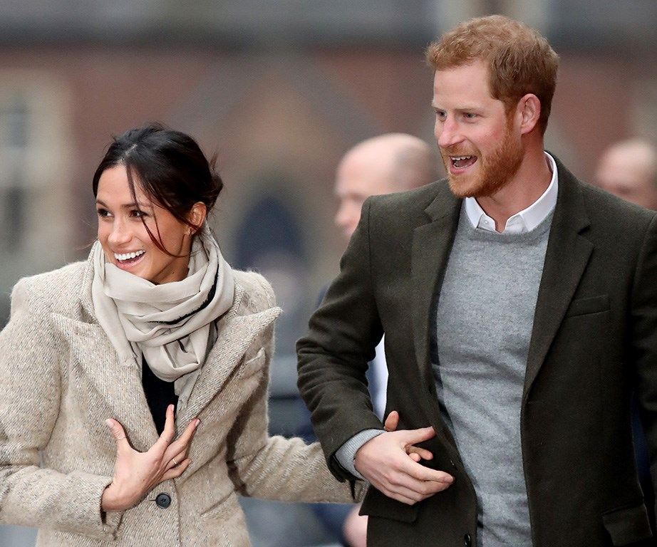 Meghan moved to London to be with Harry - and brought her fashion A-game with her.