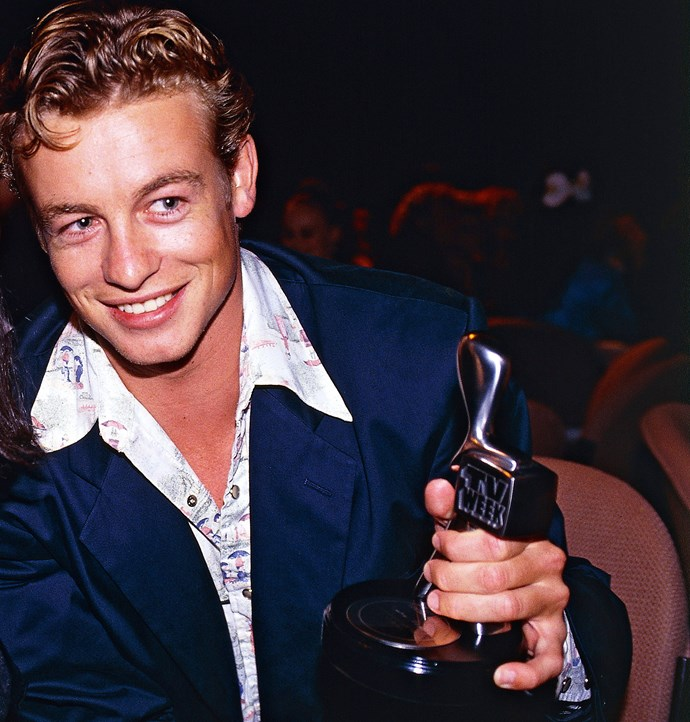 Simon Baker at the Logies.