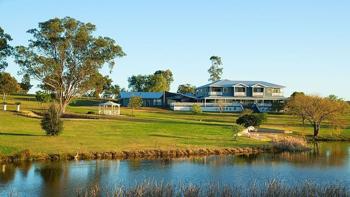 Nestled in the heart of Wine Country, it's just a two hour drive from Sydney.