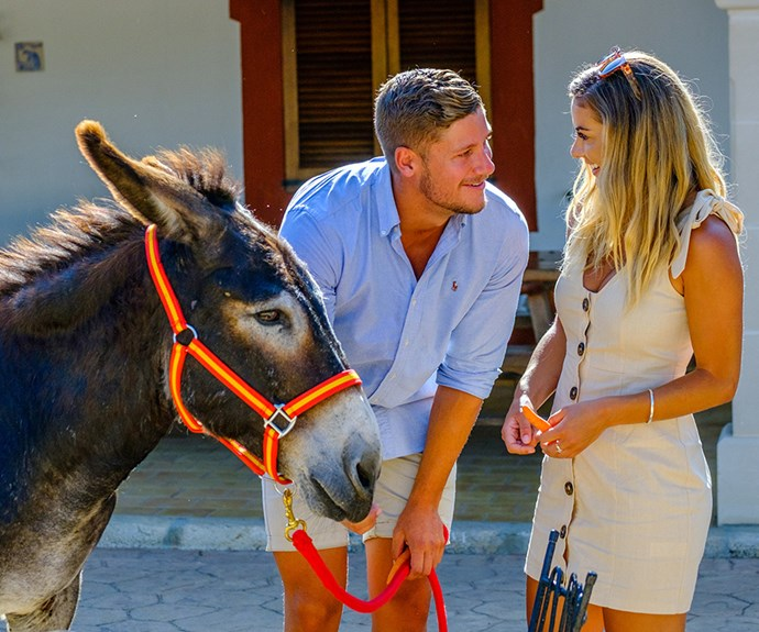 """The best date ever!"" Shelby was won back over by Dom and his donkey, but will their love last in the real-world?"