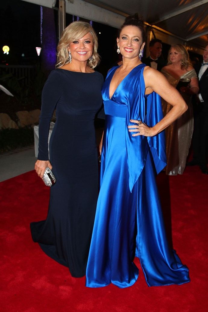 *Home and Away's* Emily Symons and Georgie Parker at the 2018 TV WEEK Logie Awards.