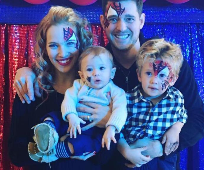 The adorable Bublé family!