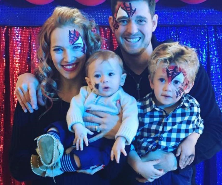 The adorable Bublé family!