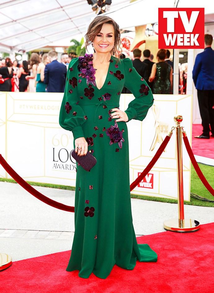 Lisa attends the 2018 TV WEEK Logie Awards.