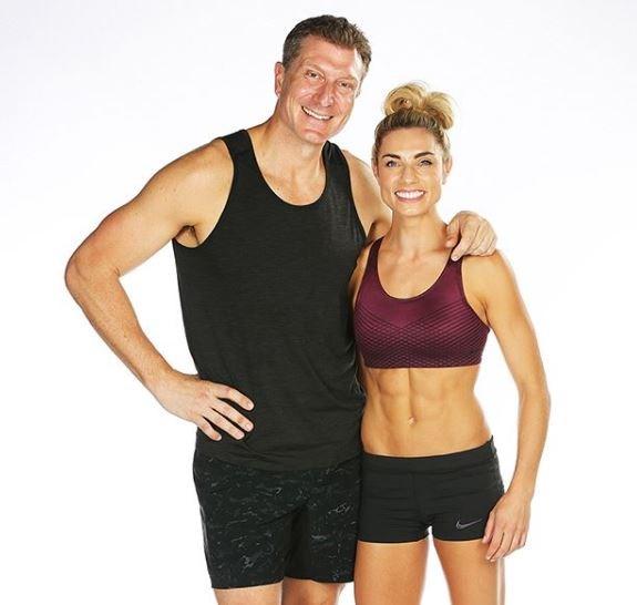 Simon and Lauren are teaming up for *Ninja Warrior* Australia.