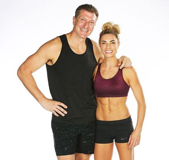 Simon and Lauren are teaming up for *Ninja Warrior* Australia.