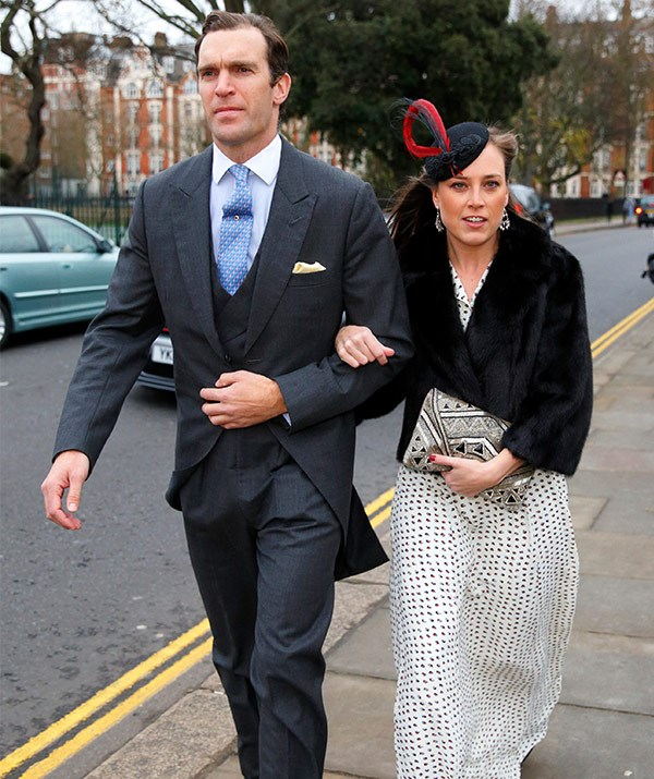 Nicholas van Cutsem and his wife Alice van Cutsem.