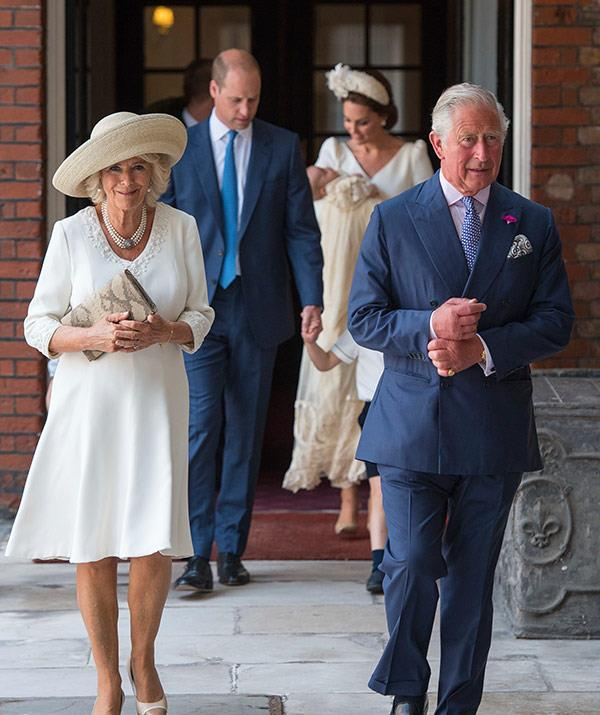 With his parents unable to attend, Prince Charles and Duchess Camilla were the most senior royals there.