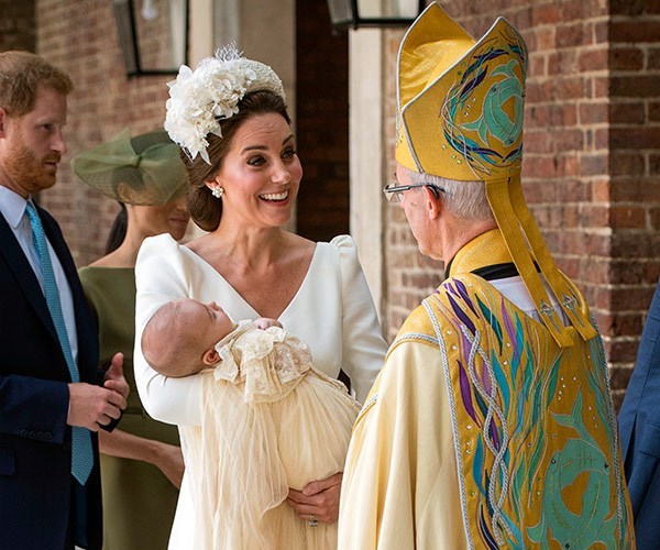 Following the royal wedding, this marks Catherine's second official royal outing since welcoming her son in April.