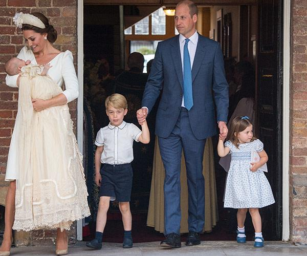 Prince Louis and his family will step out for his baptism on Monday, July 9th at 4pm UK time.