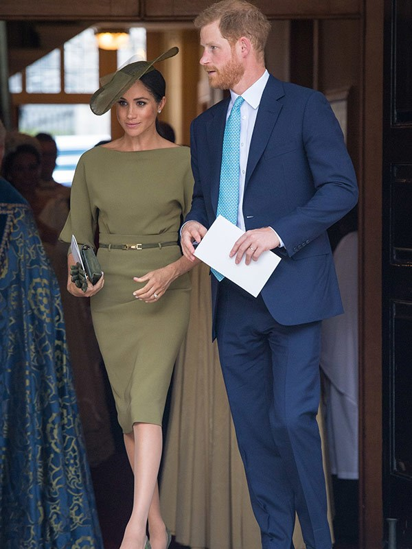 The Duke and Duchess of Sussex dazzle.