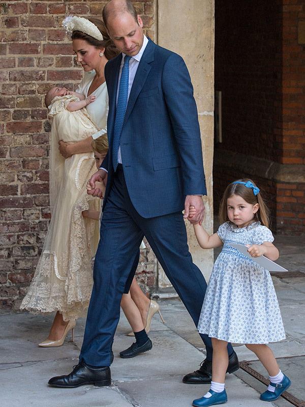 Prince William looks very dapper indeed.