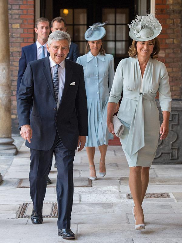 "Carole and Michael Middleton saw Prince Louis' christening as just another ""family event."" *(Image: Getty Images)*"