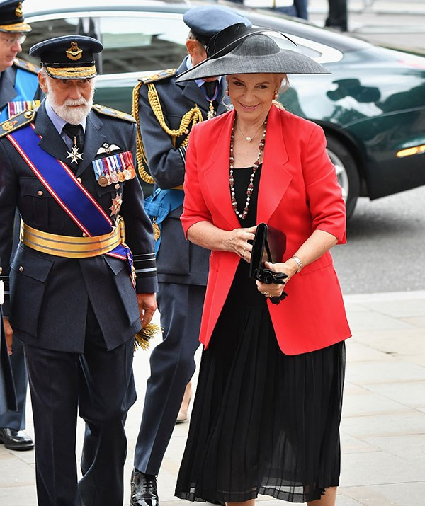 The Prince and Princess of Kent were also in attendance.